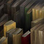 Bibliothèque. 60x70. 2015