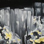 Cascades de pierre. 50x70. 2015