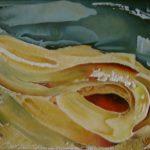Chemin d'automne. 51 x 41. 1999