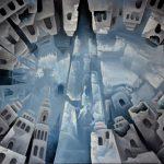 Cité de glace. 79 x 59. 2010