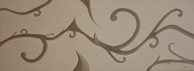 Composition. 30 x 80. 2013
