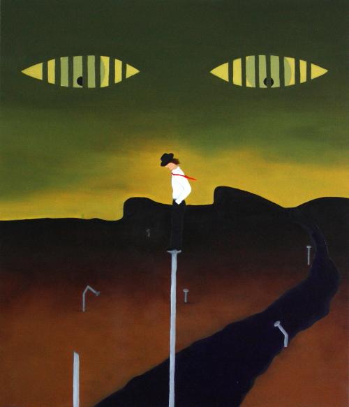 Espoir. Huile sur toile. 60 x 70. 2012