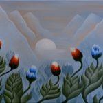 Fleurs de Lune. 40 x 30. 2005