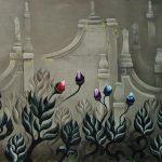 Fleurs de brume. 85 x 65. 1998