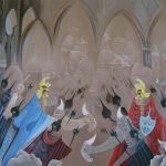 La Rencontre. 100 x 80. 1998