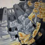 La citadelle. 60 x 73. 2004
