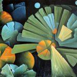 La mécanique des oranges. 60 x 90. 2010