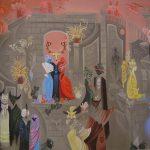 La muraille enchantée. 120 x 100. 1997
