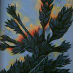 La plante noire. 33 x 46. 2004