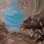 La promesse de bacchus. 79 x 63. 1988
