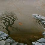 L'arbre du bout du monde. 91 x 61. 2004