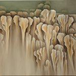 Les falaises de Monnegro. 80 x 60. 2012