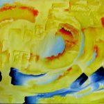 Plages de lumière. 65 x 42. 2004